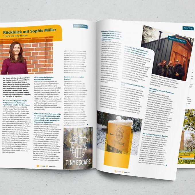 EthikBank Kundenmagazin Ethikker 2019